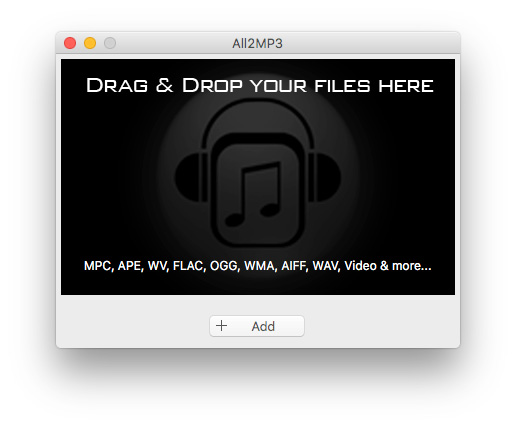 All2MP3 for Mac 2.0960 full